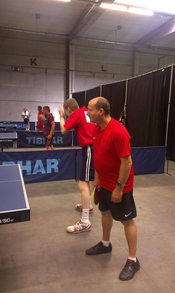 Our ambassador Christian Leclerc is going for gold! #TableTennis #SO2014 http://t.co/7PtihzQm1G