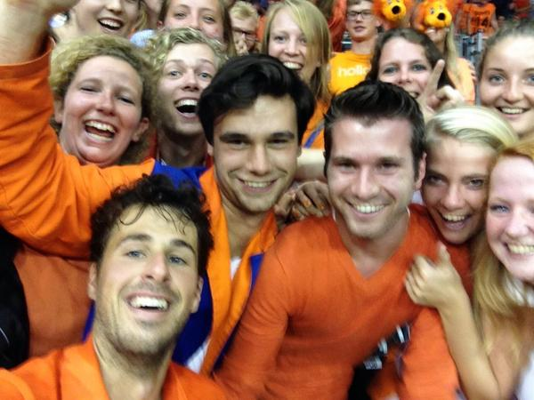 #daviscup #selfie #holland http://t.co/xALnSogUCw