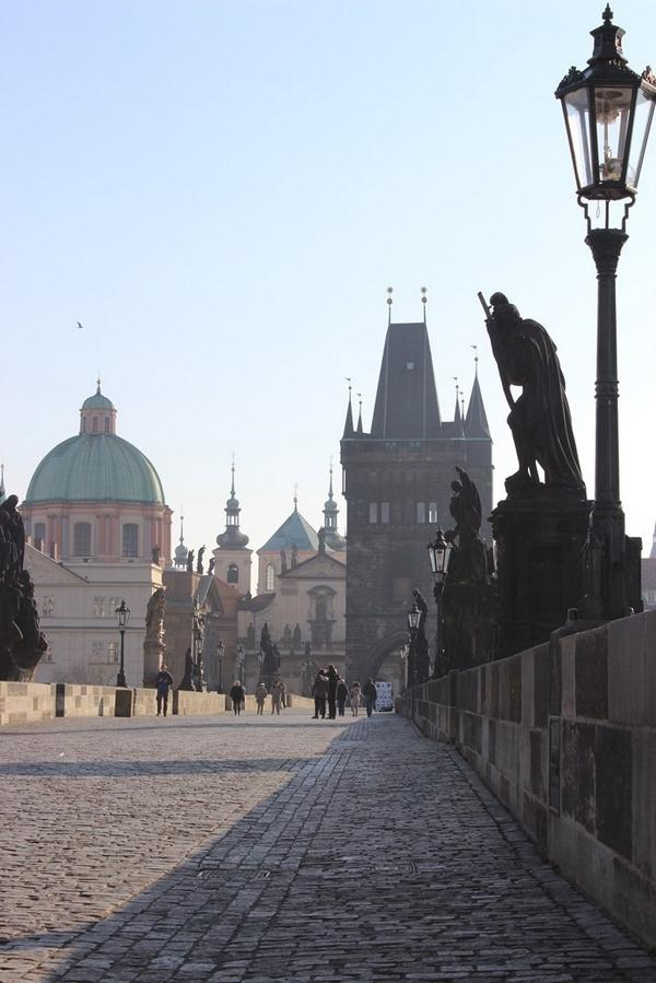 The Charles Bridge is the great