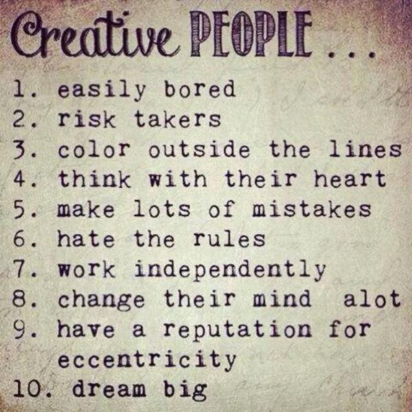 Creative people. ....via @terrinakamura http://t.co/MS0TUaVt5g | RT @lorimcneeartist