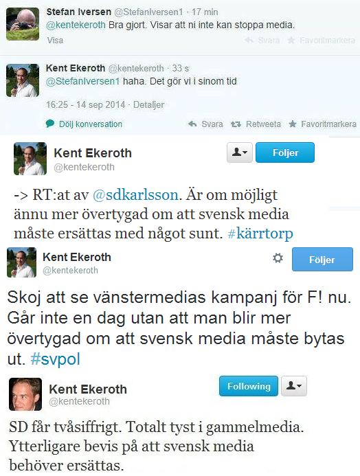 Almqvist och ekeroth portas fran gruppmotet