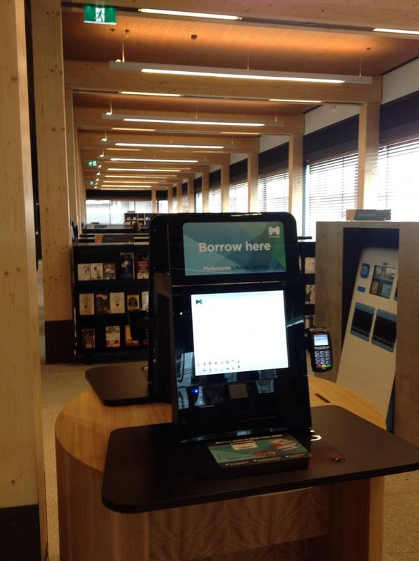 Self check and view through ground floor library@thedock http://t.co/XzZYblAvmx