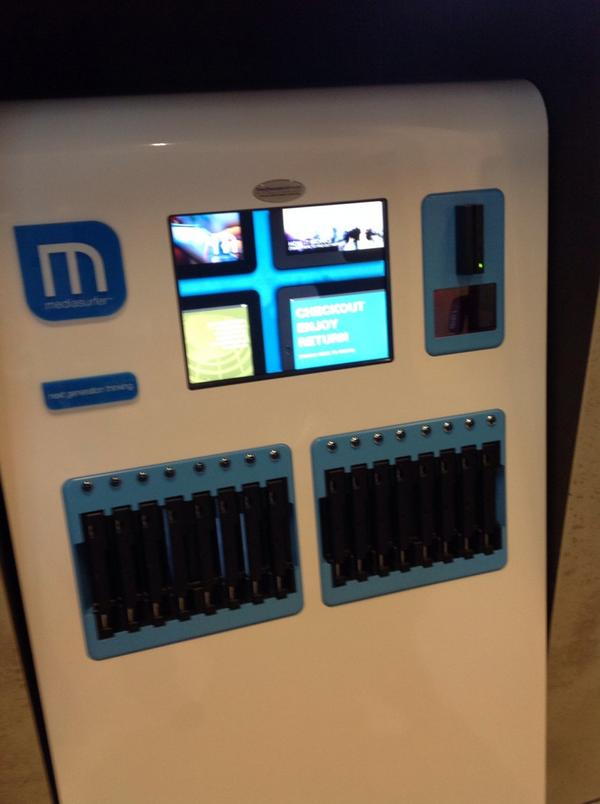 Tablet self check - library @ at the dock http://t.co/p6iK1ddVEW