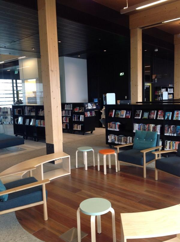 Seating space - library @ at the dock http://t.co/ucEgc45CaH