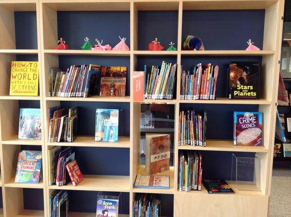 library @ at the dock, Melbourne - children's collection http://t.co/p4bKKSM5hz
