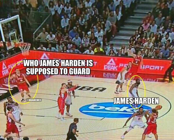 Nba memes on twitter quot that awkward moment when james harden is using