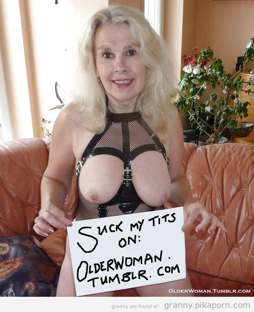 Gilf tumblr granny mature