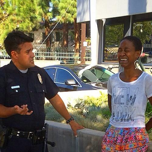 RT @MichaelSkolnik: Django Unchained actress detained by LAPD for suspected prostitution after kissing white bf: http://t.co/CtNwQXZHlm htt…