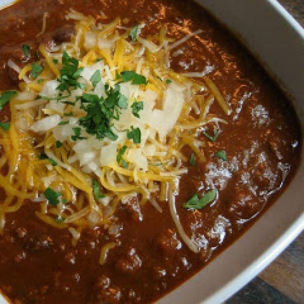 @GrammaLuvs2Cook: Moms Chili with Black Beans --> Recipe: http://t.co/bbxhWL7ogu http://t.co/yv6Mla8i7U