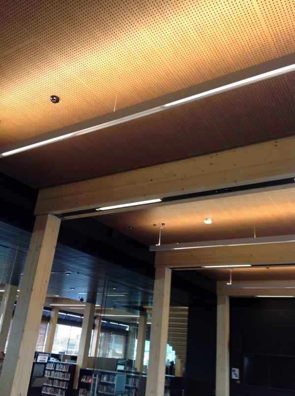 library at the dock, Melbourne - ceiling detail http://t.co/AoIXXK4EUf