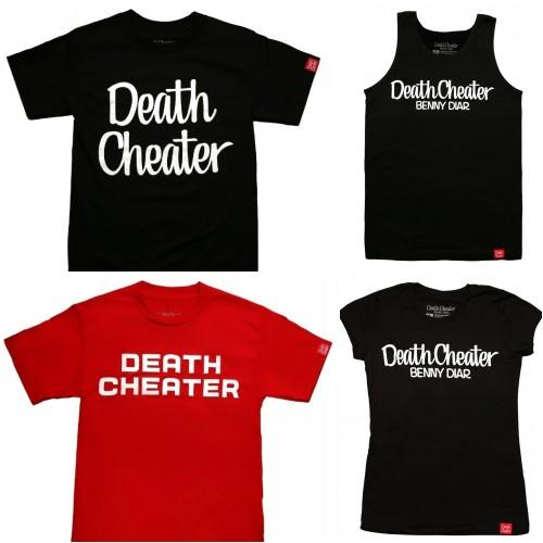 New @DeathCheater_ Shirts by @BennyDIAR Available Now.. http://t.co/53tnOGdwuF via @cloutmagazine.. Please Retweet.. http://t.co/hcippbTPzK