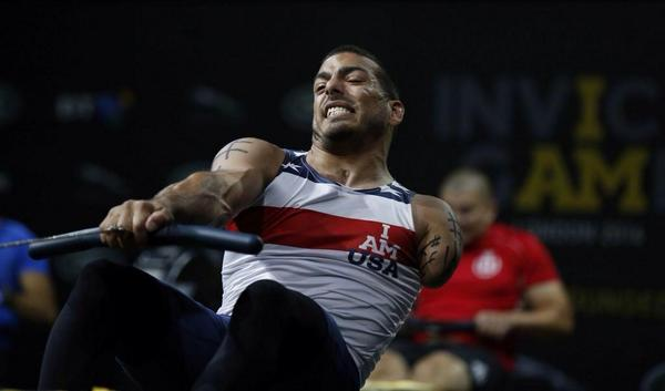 Competitors at Invictus Games showed we use excuses not reasons for not doing something. Fancy racing this guy? No! http://t.co/W7FZPusYwM
