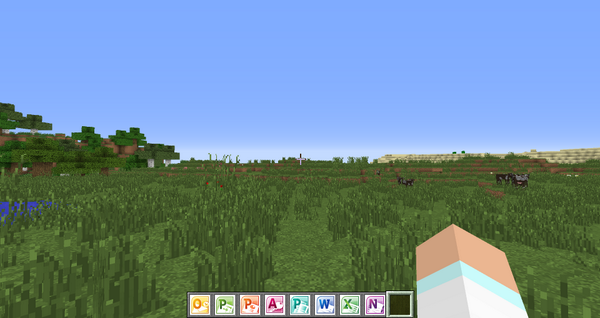 MinecraftがMicrosoftに買収されたって聞いたから、焦ってマイクラ起動してみたけど変わったところなくて安心した pic.twitter.com/U0vB6plWdj