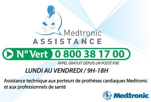 Medtronic France lance Medtronic Assistance, numéro vert d'assistance technique aux porteurs de prothèses cardiaques http://t.co/9d9dZSMdbb