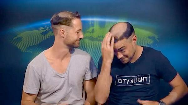What do you think of Daniel and Ryan's new hairstyles? #amazingraceau http://t.co/hivL4EBH6w