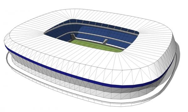 Leaked New Stadium Src Twitter Everton