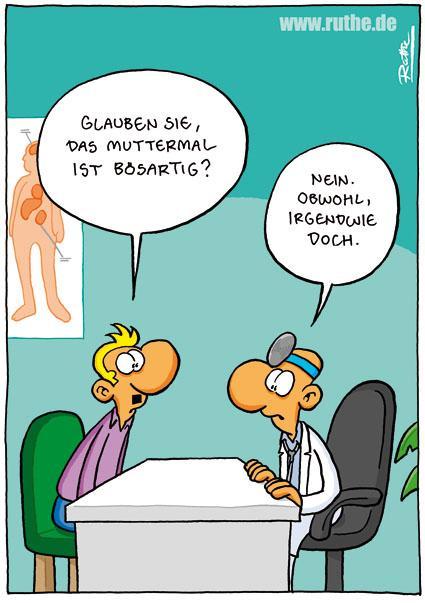 Deutsche Ärztin beim Schwanzrodeo mit Patienten