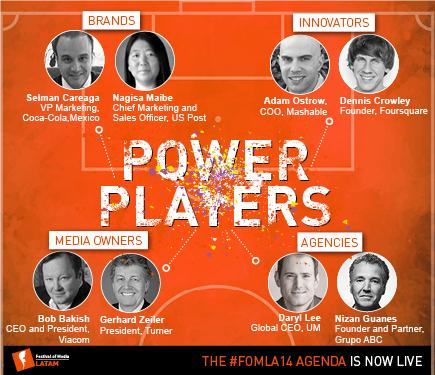 RT @FestivalOfMedia: Only 2 wks until the most #powerful media event in Latam! Check out our final agenda http://t.co/l44n57JwVE #FOMLA14 h…