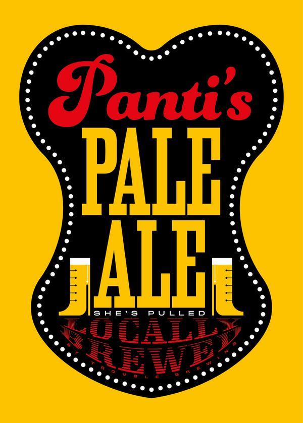 Panti's Pale Ale Poster