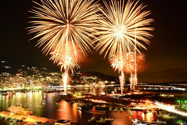 熱海海上花火大会すごかったです http://t.co/QFMjwGB04j