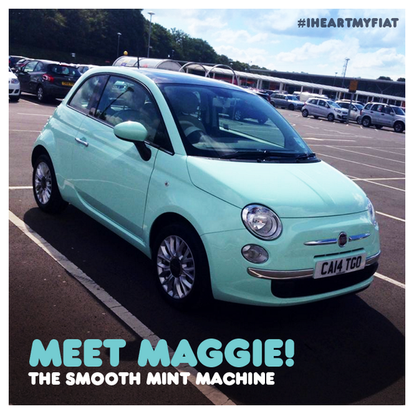 fiat uk on twitter maggie s looking mint tweet us your smooth mint machines and we ll retweet. Black Bedroom Furniture Sets. Home Design Ideas