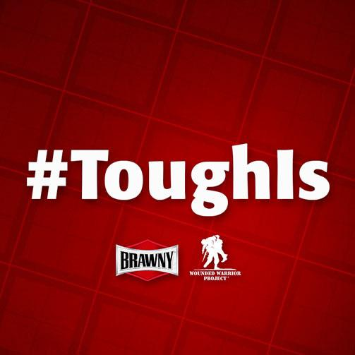 "Tweet us your definition of ""tough"" using hashtag #ToughIs, & we'll donate $1 to @wwpinc to show our support. http://t.co/G2gSuPTFXw"