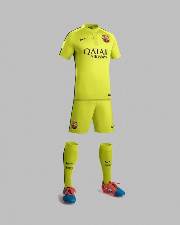 Третий комплект формы для Барселоны - изображение 2