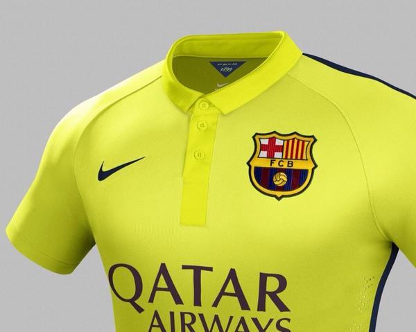 Третий комплект формы для Барселоны - изображение 1