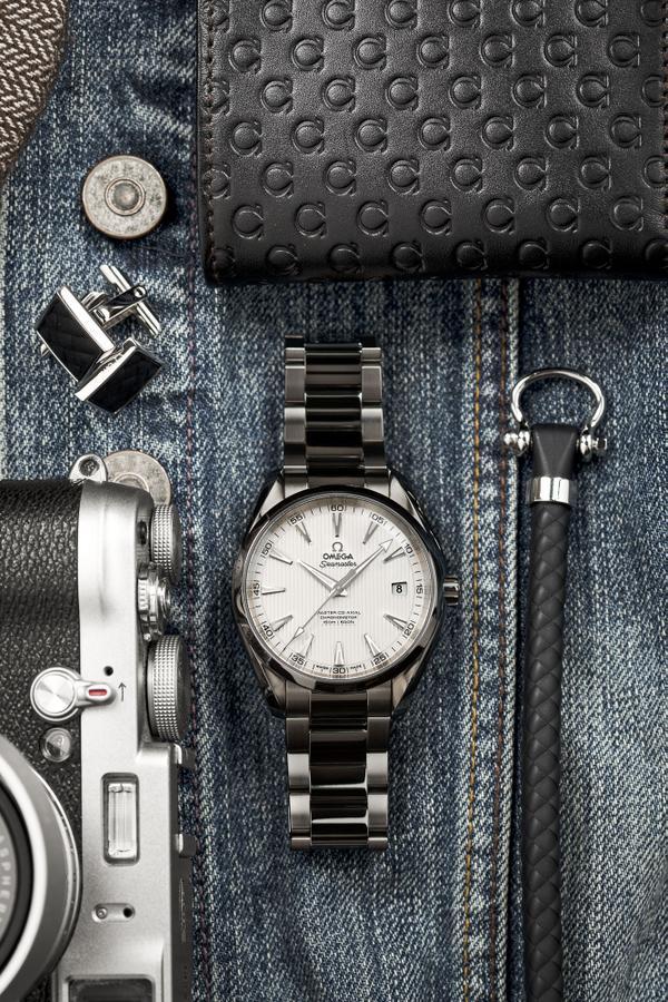 Omega Watches On Twitter Essentiallyomega Seamaster Aqua Terra Cufflinks Bracelet Fine Leather Wallet