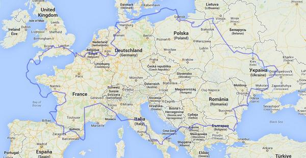 Brilliant maps on twitter size comparison of kazakhstan and europe brilliant maps on twitter size comparison of kazakhstan and europe httptm8zr6tvyyc gumiabroncs Choice Image