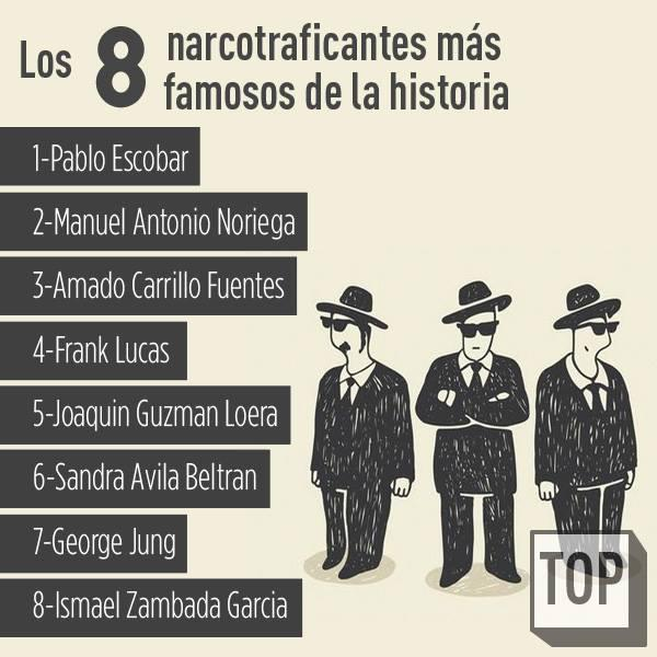 Nelly Cavero On Twitter At Topsgeniales Los 8 Narcotraficantes Mas
