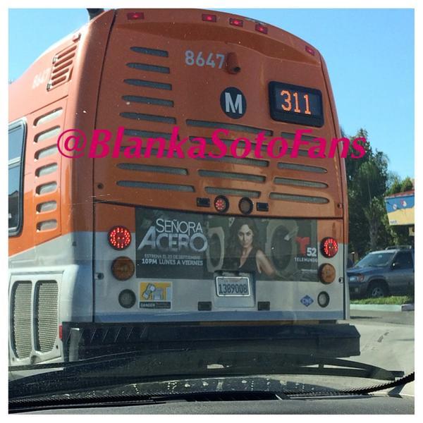 Miren lo que anda pasiando por las calles de Los Angeles!! #TeamSoto gracias a mi @marciaperez55 por la foto ☺️