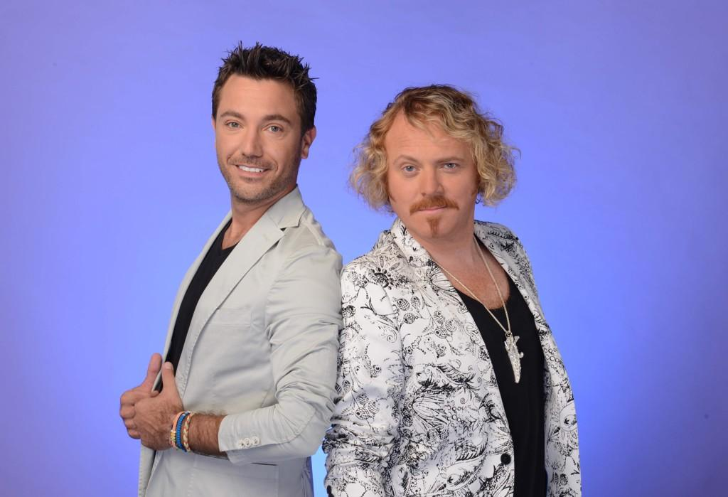 shooting celeb juice this evening with the Italian stallion from Sheffield @Ginofantastico filling in for Holly! http://t.co/JMG5DMzi8F
