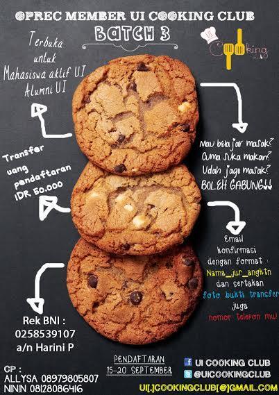 UI Cooking Club On Twitter Selamat Pagi Hari Ini Pun Masih Menanti Kalian Member Baru Info Pendaftaran Cek Poster