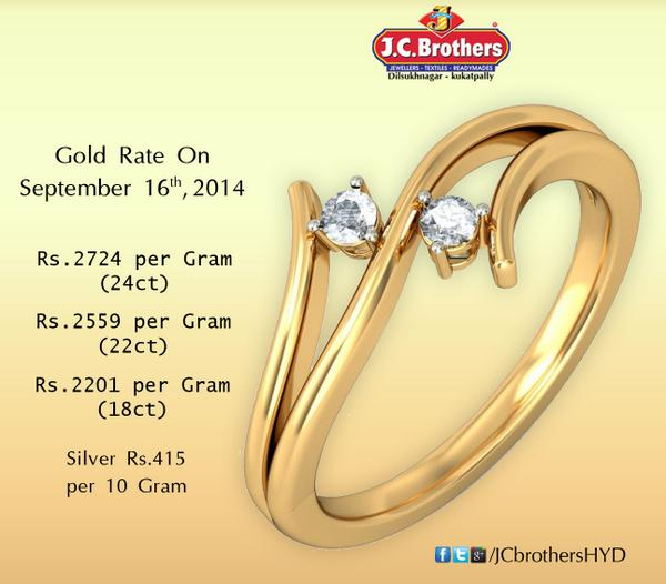 J C Brothers On Twitter The Cur Day Gold Price Per 1 Gram Jcbrothers Kukatpally Dilsukhnagar Goldupdate Http T Co Akbrduregp