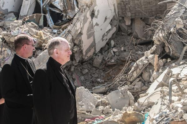 @bishoppates visits Gaza during the #PeacePilgrimage to the #HolyLand. @USCCB @CatholicRelief http://t.co/W0nKx3hru1