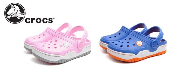 Pink or #Blue? #Crocs #Jordan
