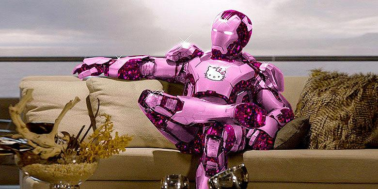 Todays Movie Superheroes Get Kitty-fied With Hello Kitty Makeovers And Sparkly Pink Costumes http://t.co/TcB692jxiq http://t.co/oEtbFA3W29