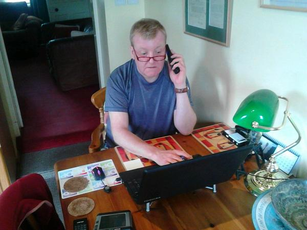 Back in the Highlands and on the phone to voters asking them to vote #nothanks and get more. #LibDemNo http://t.co/dysvDWNz5i