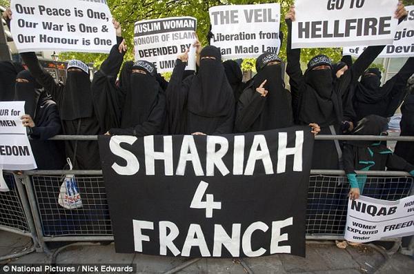 Resultado de imagen para sharia4france
