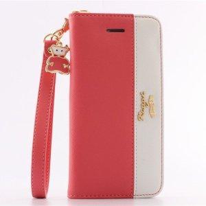 648d6aa6cb 【iPhone6ケース】 『ピンクが可愛い手帳型』 とぉーっても可愛いケース見つけちゃいました! 手帳型だから中には定期を入れたりも。