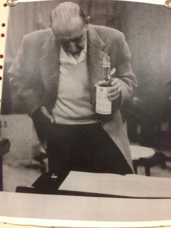 Stravinsky, bottle in hand http://t.co/fQpTbkQDhp