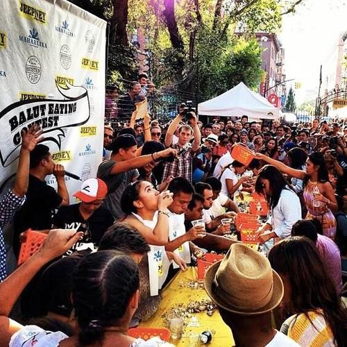 It's that time of the year again, this wknd we're hosting the 3rd Annual Balut Eating Contest at Hester! @JeepneyNYC http://t.co/rCCZhDXgPH