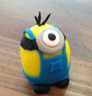 We're big fans of this little #minion, crafted with love and care by Ben for #NationalPlayDohDay: http://t.co/4XN746UOHf