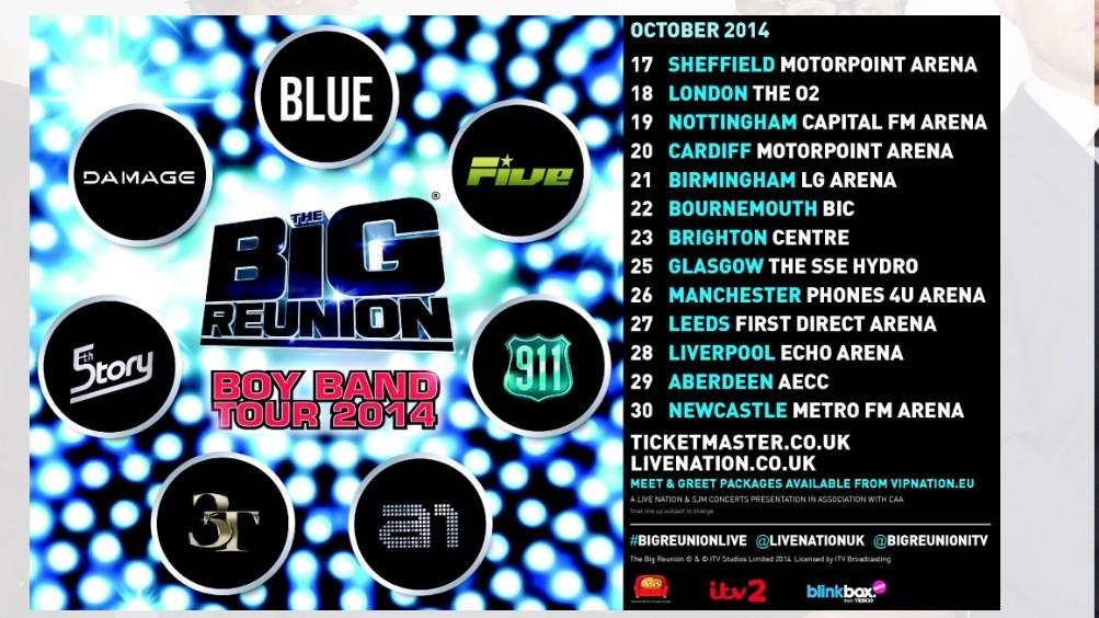 RT @LoveBlue4EverLR: Blue Fam are you ready for Big Reunion ? Yes we are !! @MrDuncanJames @AntonyCosta @simonwebbe1 @officialblue Lee ❤️😀 …