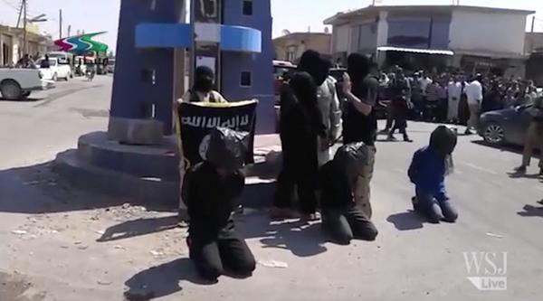 Public executions—just another day in ISIS's home base of Raqqa, Syria, say locals. http://t.co/taQkJ4LReS http://t.co/WZDEpraKac