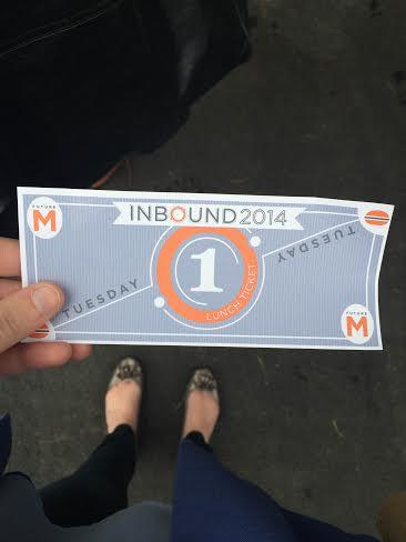 "ViralGains' Senior Content Marketer Kaitlyn Smith with her #INBOUND14 ""golden lunch ticket""! http://t.co/ikiFvEaItA"