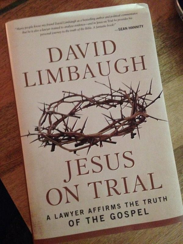 NY Times Book Review Banishes David Limbaugh's Jesus on Trial