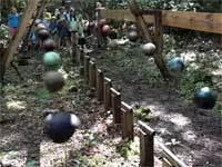 Pendulum Wave Demonstration Using 16 Bowling Balls http://t.co/yVwHuR3md8 http://t.co/2B8Hadr5Fl