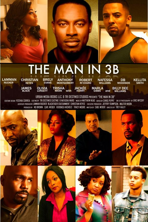 """Special Thx to @shadowandact for featuring 'The Man in 3B' See new trailer and poster here! http://t.co/2fN66Ztk3V http://t.co/FhRMrU7BoQ"""""""